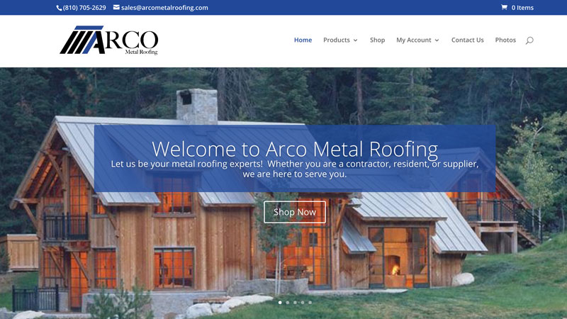 ARCO Metal Roofing