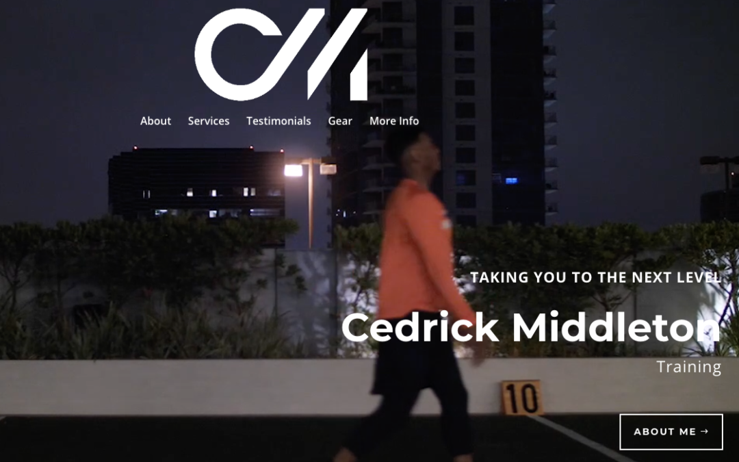 Cedrick Middleton Training
