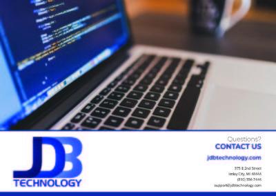JDB Technology Brochure back
